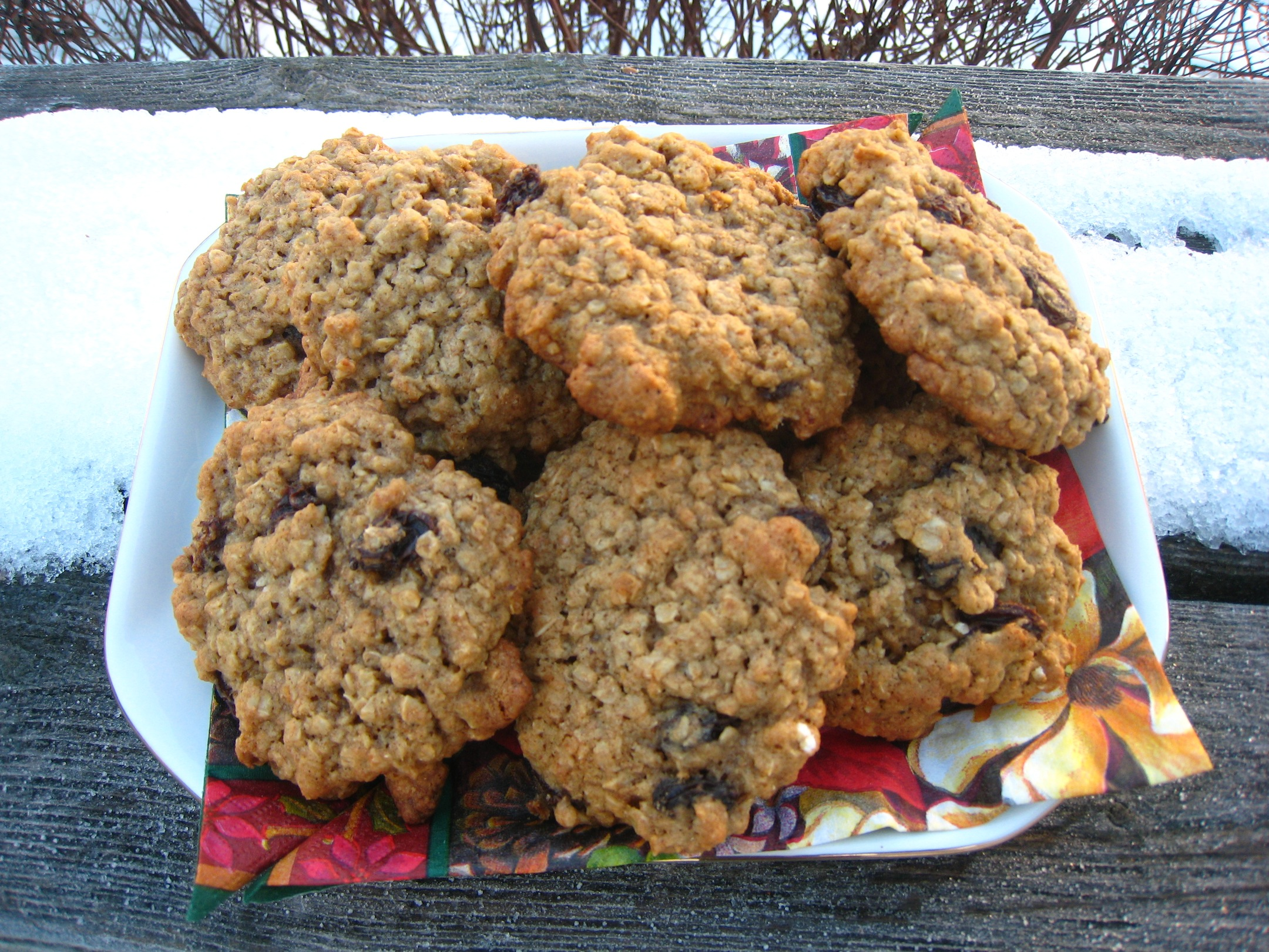 My Favorite Oatmeal Raisin Cookie Recipe