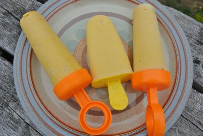 3 Ingredient Mango Creamsicle (dairy-free, gluten-free)